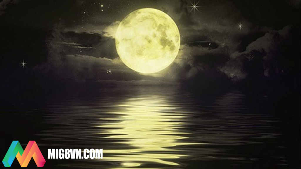 Nằm mơ thấy mặt trăng