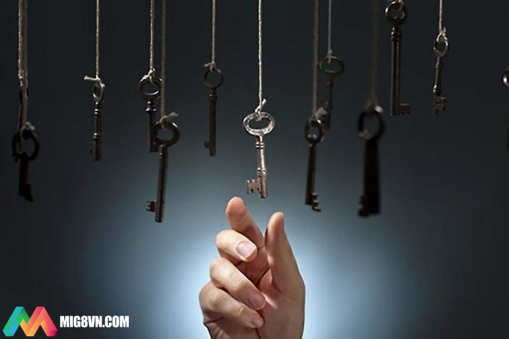 Mơ thấy chìa khóa đánh con gì