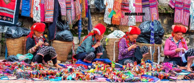 Mơ thấy chợ