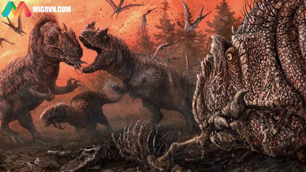 Mơ thấy khủng long điềm báo gì
