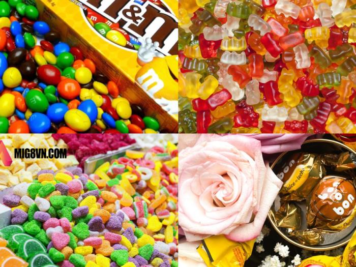 Nằm mơ thấy kẹo